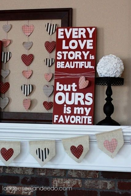 DIY Valentine's Day Decoration