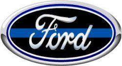 Thin Blue Line Sticker, Police Sticker, Ford Sticker, Brotherhood