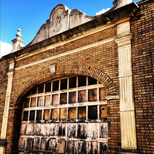 Parking Garage Of The Long Defunct Baker Hotel In Mineral Wells Tx Its