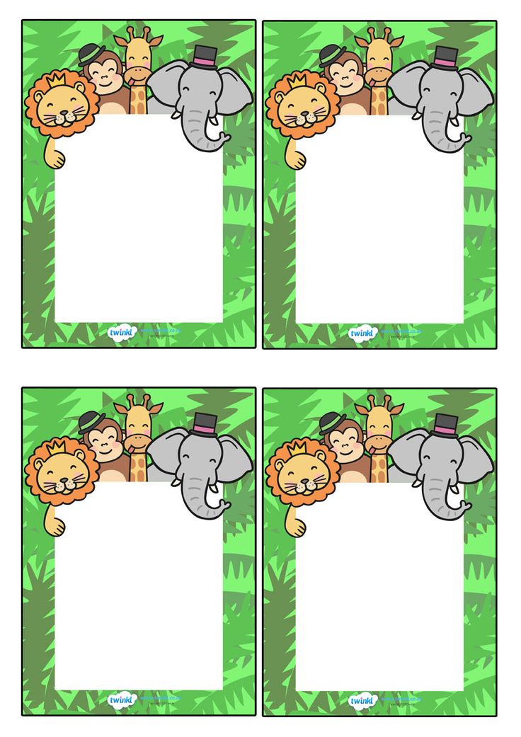 Twinkl Resources >> Editable Note From Teacher jungle themed  >> Classroom printables for Pre-School, Kindergarten, Primary School and beyond! editable note, note from teacher, jungle themed, note, teacher comment, parents, home school
