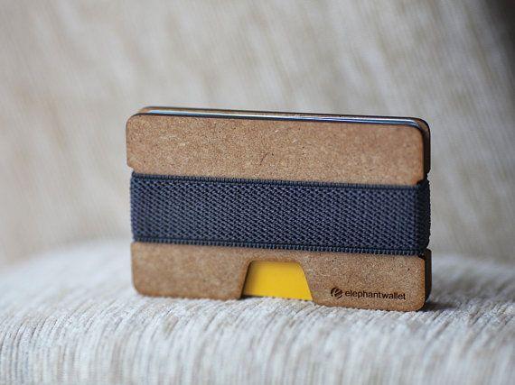 Wooden wallet, credit card wallet, women and men wallet , minimalist slim, modern design