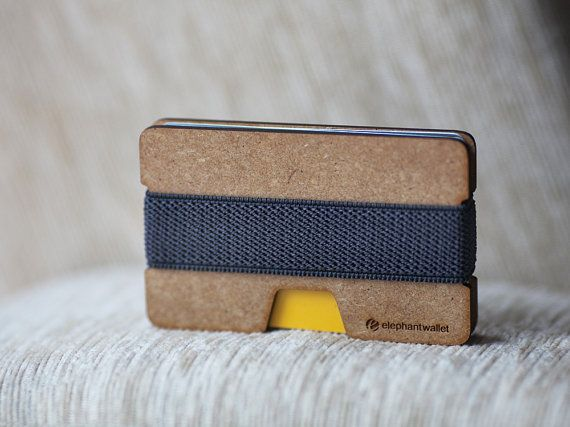 Wooden wallet, credit card wallet, women and men wallet , minimalist slim, modern design on Etsy, $19.00