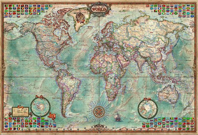 This world map 4000 piece puzzle has got to be pretty challenging. For anyone who loves maps and puzzling this would make an awesome gift! http://jigsawpuzzlesforadults.com/4000-piece-puzzle-world-map/