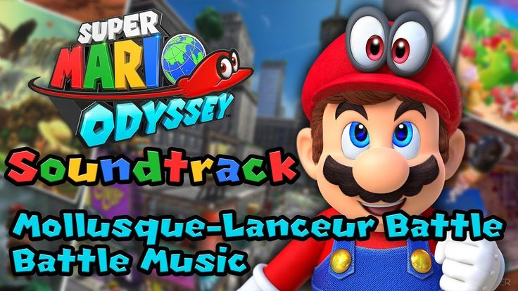 Mollusque-Lanceur Battle - Super Mario Odyssey Soundtrack
