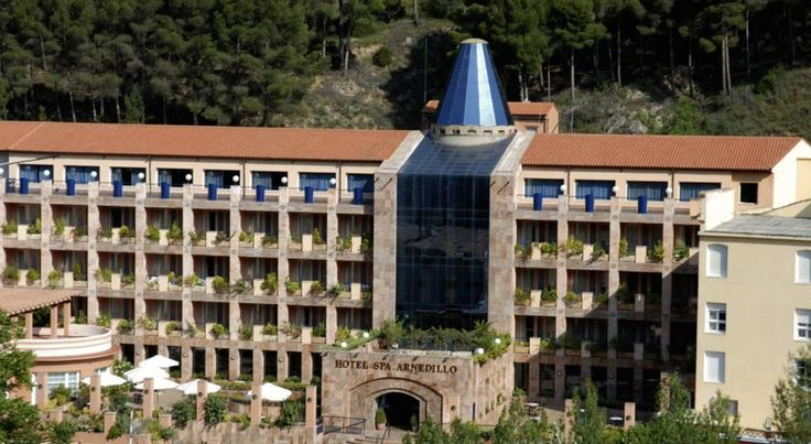 Hotel SPA TermaEuropa Balneario Arnedillo Arnedillo This hotel is situated in the mountainous setting of La Rioja. The therapeutic treatments offered will guarantee your relaxation and comfort.  The rooms are warmly decorated, elegant but at the same time functional.
