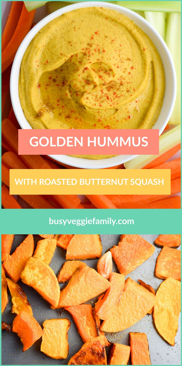 This Roasted Butternut Squash Hummus recipe is a easy and healthy vegetarian dish with a twist.  A simple, basic hummus with a few twists adapted to fit my needs and the ingredients I had on hand! #hummusmadeeasy #hummuslove #vegetarianrecipes #easymeals #healthyfood