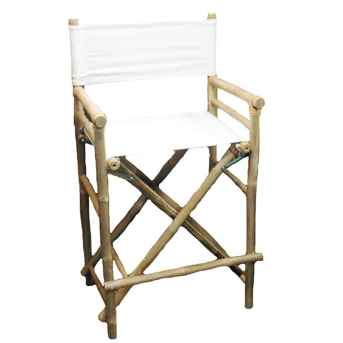 Awesome Bamboo Directoru0027s Chair