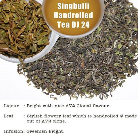 Now buy Singbulli Handrolled Tea DJ 24 from our E-Shop.