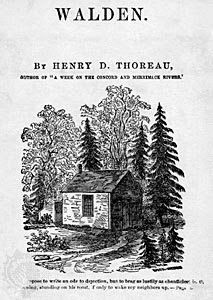 walden essay prompts Chapter one: ''economy'' thoreau begins by telling readers that he is writing to answer why he chose to live alone for more than two years in a small, simple.