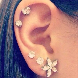 <3 love the placement of these! definitely thinking about a third lobe at least for sure!