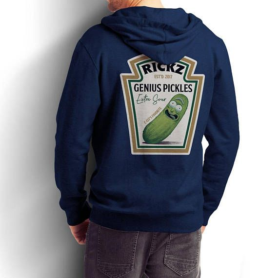 Rickz Pickles / Rick and Morty Pullover and Zip-Up / Pickle