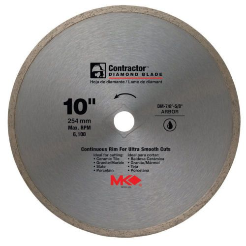 Saw Blades 122837 M K Diamond Diamond Blade Mk 99 Wet 10 Diax0 060 Wx5 8 Buy It Now Only 28 81 Diamond Blades Circular Saw Blades Loft Decor Industrial