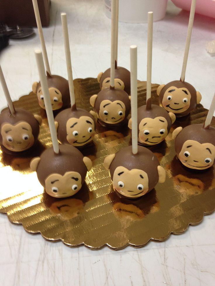 Monkey Cake Pops                                                                                                                                                                                 Más