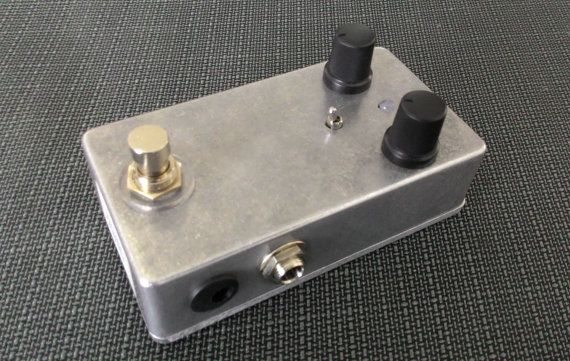 Harmonic Percolator overdrive distortion fuzz by monkeykingshop
