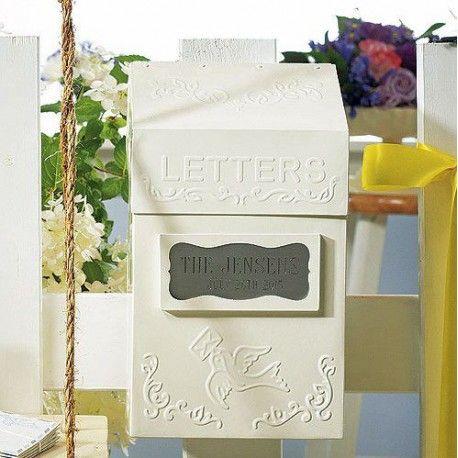 L'urne boite aux lettres rétro personnalisée