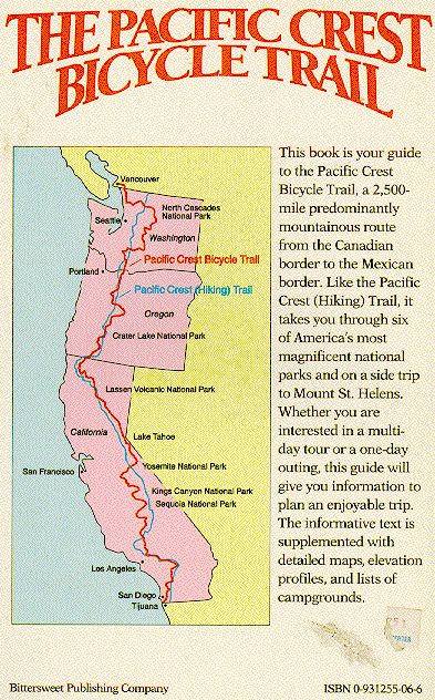 Pacific Crest Bicycle Trail I Will Be Doing This Before The Yr Is
