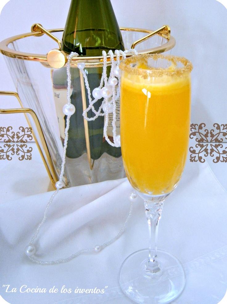 Cóctel Mimosa.   La Cocina de los inventos