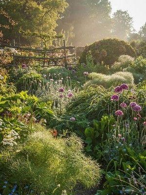 Taste de jardin: le jardin à l'anglaise ou jardin anglais, nature et romantique
