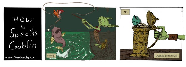 goblin   #goblins #fishing #fairies #humor #dungeonsanddragons #webcomics #Pathfinderrpg