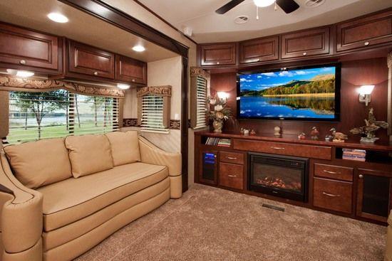 Beautiful Big Country Rv Living Room Big Country