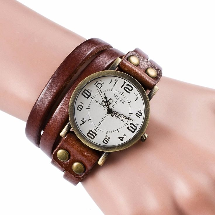 Leather Bracelet Watch     Tag a friend who would love this!     FREE Shipping Worldwide     Get it here ---> https://levanra.com/leather-bracelet-watch/
