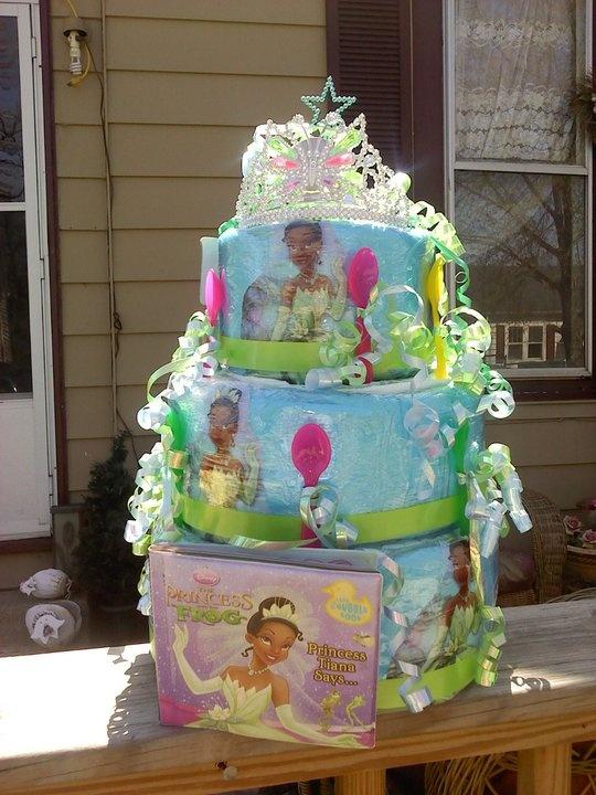 Princess Tiana Baby Shower Decorations