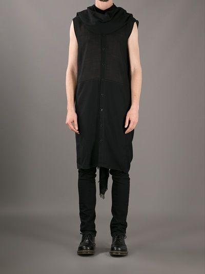 NICOLAS ANDREAS TARALIS - caped sleeveless shirt 7
