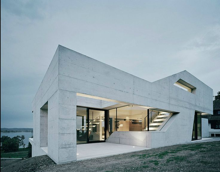 Minimalist House in Untersee, Germany designed by Germany-based architects, Biehler Weith Associated