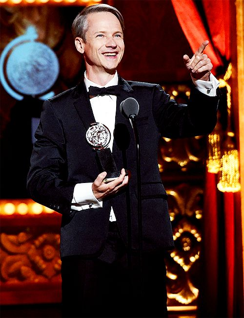 John Cameron Mitchell accepts a Special Tony Award for Lifetime Achievement in the Theatre onstage at the 2015 Tony Awards at Radio City Music Hall on June 7, 2015 in New York City.