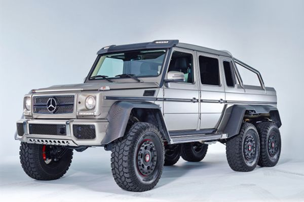 Bullet proof Mercedes Benz G63 AMG 6×6 delivers the ultimate off roading experience