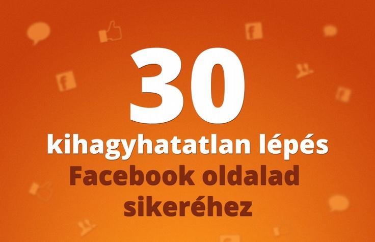 Tanácsok facebook oldal létrehozásához a kezdetektől.