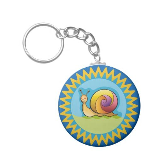 Lindo caracol multicolor. Snail. Producto disponible en tienda Zazzle. Product available in Zazzle store. Regalos, Gifts. Link to product: http://www.zazzle.com/lindo_caracol_multicolor_basic_round_button_keychain-146637544721667712?CMPN=shareicon&lang=en&social=true&rf=238167879144476949 #llavero #KeyChain #caracol #snail