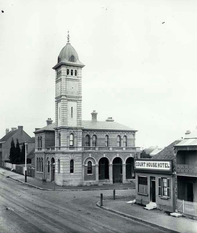 Redfern Post Office on Redfern St, Redfern.