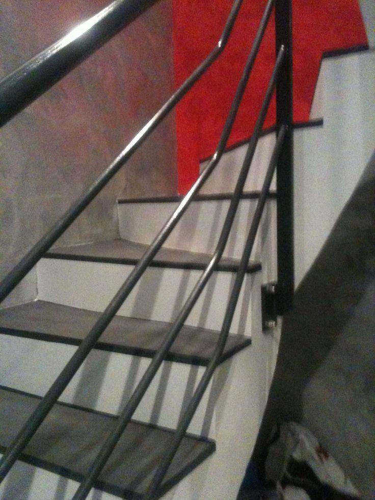 Escalier 2 couleurs
