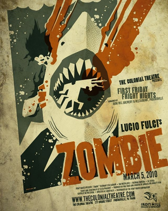 13 best retro zombies images on pinterest cinema posters movie toms work is awesome zombie zombi is a great film fulci is a master the zombie vs shark scene is a classic malvernweather Images