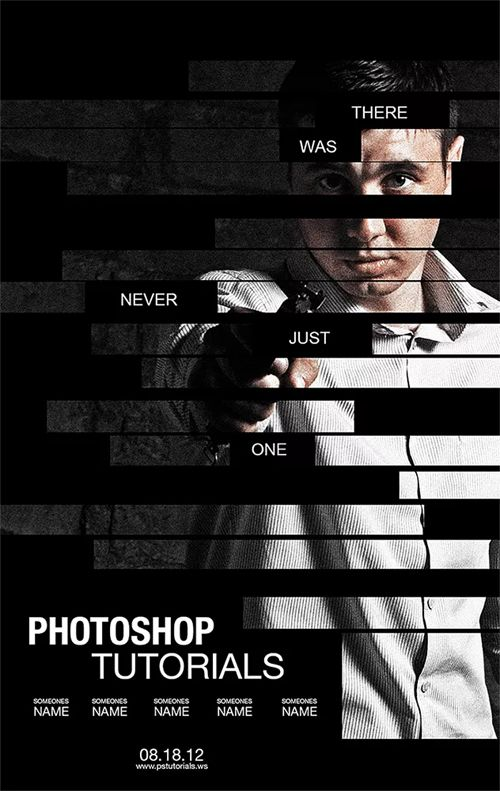 Create a Poster Inspired by the Movie The Bourne Legacy