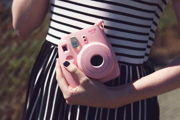 Check out Zoe London's easygoing summer style. #ootd #Instax