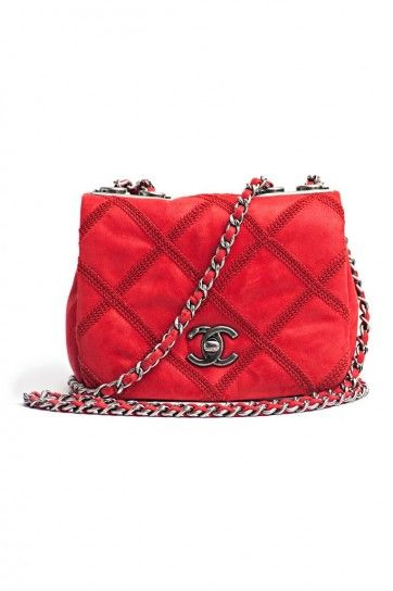 Clutch rossa Chanel