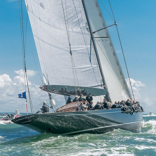 Topaz, the brand new and much awaited J Class yacht, built by Holland Jachtbouw has been launched! Topaz, originally known as J8, as her name suggests, is the eighth J Class yacht to join the fleet. She will no doubt soon join the rest of the Js ... more here https://www.facebook.com/absoluteboatcare/posts/1112588305434832 www.absoluteboatcare.net