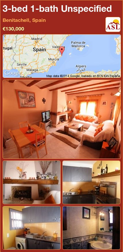 3-bed 1-bath Unspecified in Benitachell, Spain ►€130,000 #PropertyForSaleInSpain