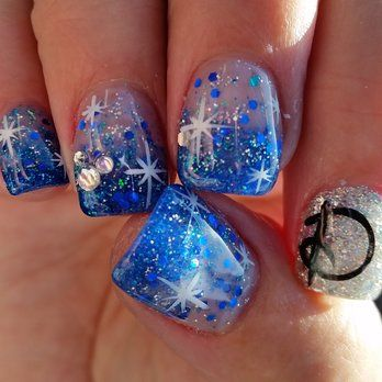 Disney Diamond Celebration Nail Art! | Yelp