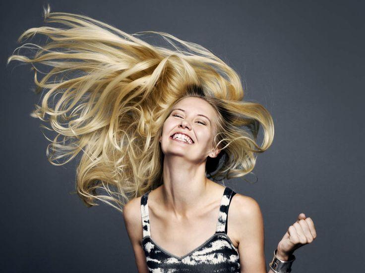 Windswept Hair -