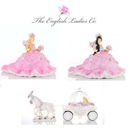 The English Ladies Co - Gypsy Brides, Porcelain Doll Figurine, by Thelma Madine