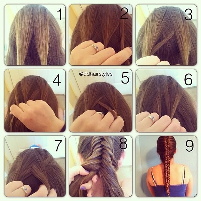 Dutch Fishtail Tutorial!! Cute for anytime!