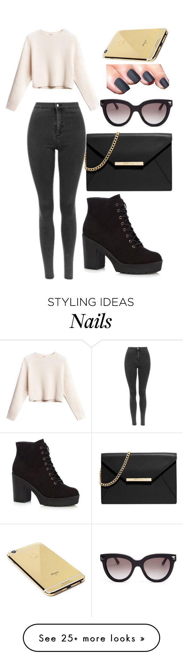 """Untitled #196"" by xxcupcakesxx on Polyvore featuring MICHAEL Michael Kors, Valentino and Goldgenie"