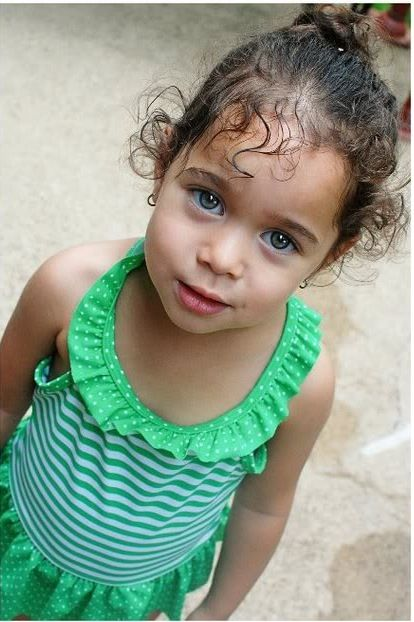 Gorgeous!!! Mixed babies