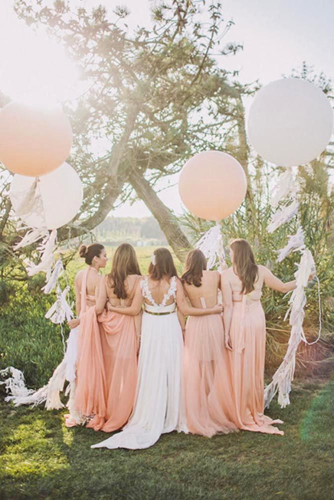 30 Must Take Wedding Photos With Your Bridesmaids ❤ See more: http://www.weddingforward.com/must-take-wedding-photos-with-bridesmaids/