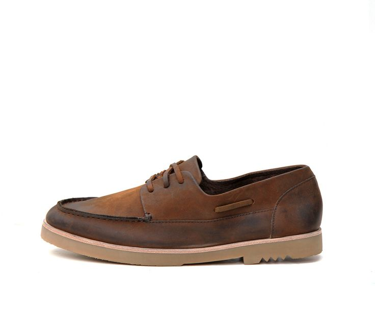 Cabin; Mud by MERE. We're always on the lookout for menswear (and womenswear) that can stand the test of time. These leather lace boat shoes pass that test. They're timeless, and can be dressed up or down. Perfect for that special man in your life.