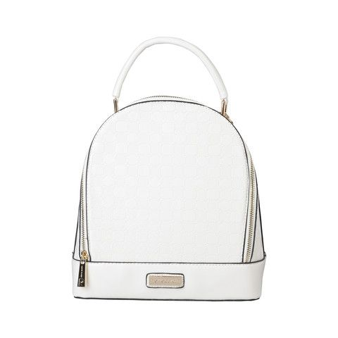 PIERRE CARDIN White 2 in 1 Handbag - MyaBelle - 1