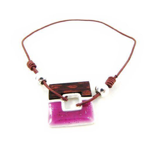 """Bracelet creator """"Bora Bora"""" rose. Les Tresors de Lily. $10.00"""